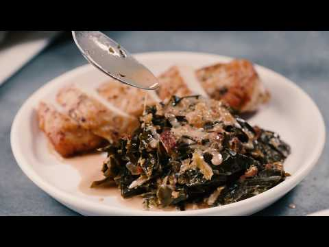 Kimchi-Creamed Collard Greens | 40 Best-Ever Recipes | Food & Wine
