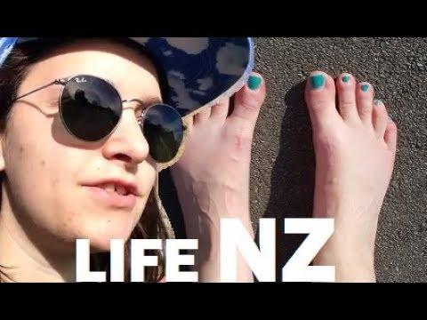 Walking In Bare Feet New Zealand Culture