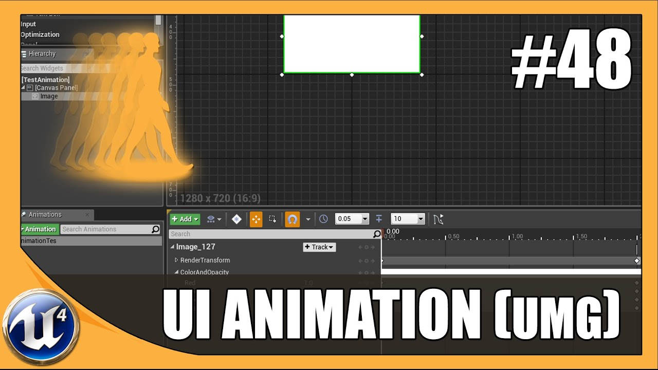 Basic umg ui animation 48 unreal engine 4 beginner tutorial basic umg ui animation 48 unreal engine 4 beginner tutorial series youtube malvernweather Images