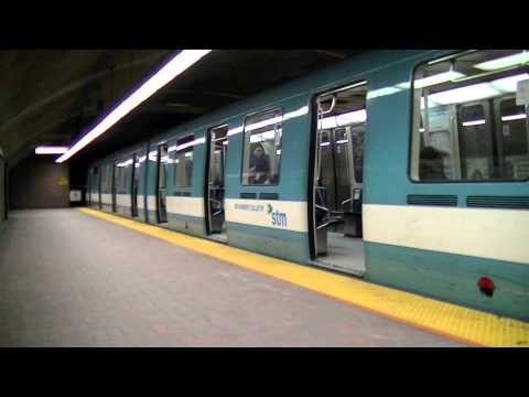 A Visit to Montreal, Quebec! Montreal Metro, Exporail Museum and more! 3/2014