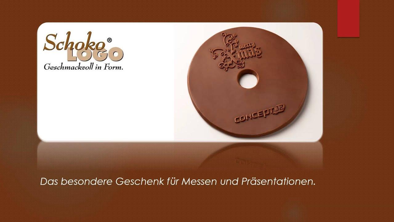 Logo auf Schokolade, Schokoladige Werbegeschenke und ...