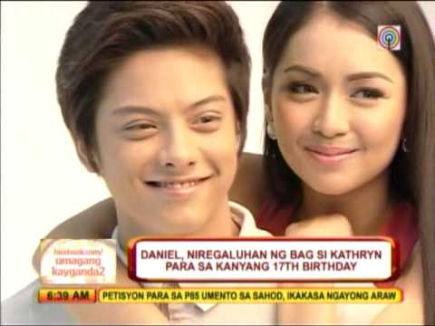Kathryn gets designer bag from Daniel