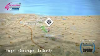 Découvrez le parcours des 4 jours de Dunkerque - Grand Prix des Hauts-de-France 2018