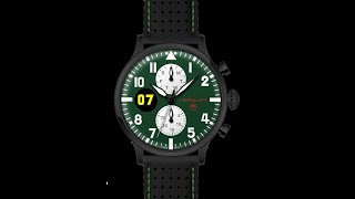 RACING WATCH TYPE 1 BROOKLANDS video