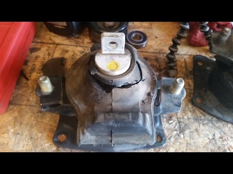 2003-2007 Accord Rear Engine Mount Replacement (4 cyl AT)