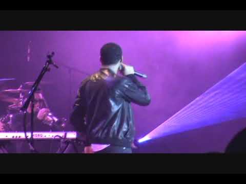 Ryan Leslie - Diamond Girl (Live)