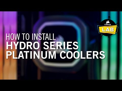 Corsair Hydro H100i RGB Platinum CPU Cooler Review - Legit Reviews