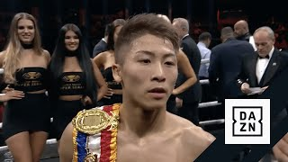 Naoya Inoue Reacts To 2nd Round KO In Post-Fight Interview