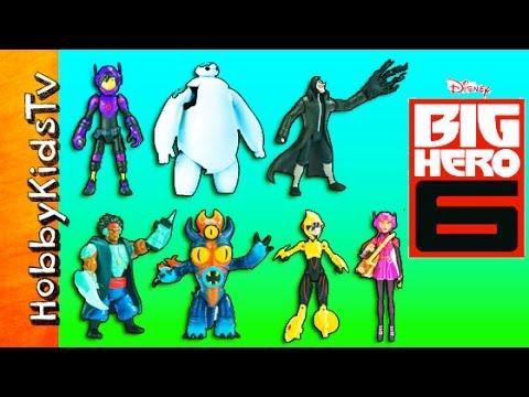 New Disney BIG HERO 6 Toy Set! HULK Smash Unboxing Review HobbyDee by HobbyKidsTV