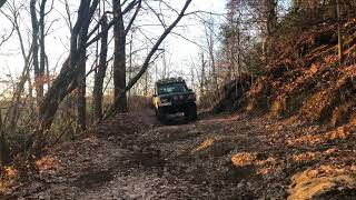 Discovery 2 off roading video 6/11