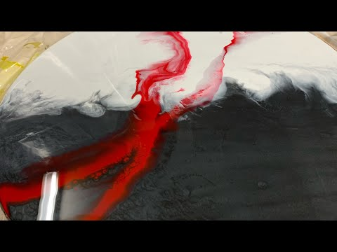 Resin Art how to epoxy Collab. With naptime creations