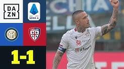 Nainggo(a)lan vermiest Ex-Verein den Sonntag : Inter - Cagliari 1:1 | Serie A | DAZN Highlights