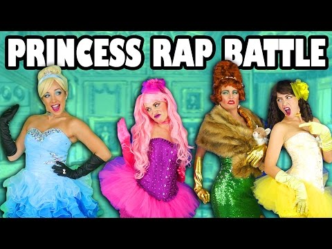 Cinderella vs Ugly Stepsisters Princess Rap Battle Music Video Family Friendly. Totally TV