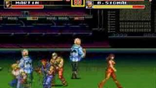 Streets of Rage 2 gameplay