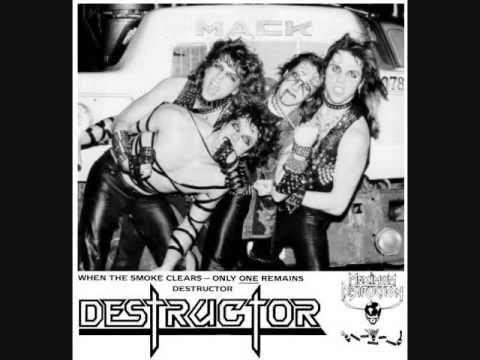 Destructor - Live on WRUW College Radio, Cleveland OH (21/9-