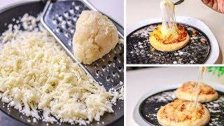 Homemade Mozzarella Cheese Recipe | Mozzarella Cheese Recipe Without Rennet | Pizza Cheese Recipe