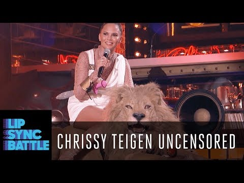 Chrissy Teigen Uncensored W/ LL Cool J | Lip Sync Battle