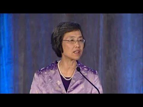 Presidential Address: Kwok Pui Lan SD