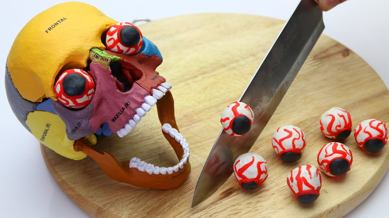 Stop Motion Cooking Making Weird Foods From Crossbones, Lego IRL Asmr Bugs 4K | Cuckoo