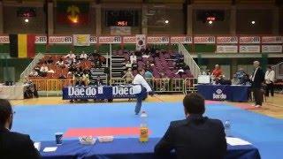 Championnat de Belgique Poomsae - Senior 1 A Female