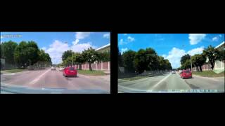 CarCam Compare (sunny day) - GS5000 vs DOD LS300W