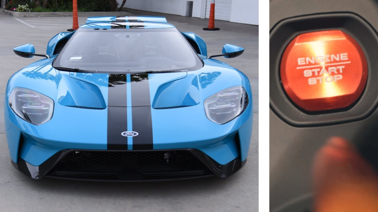 First Drive In My New Ford Gt