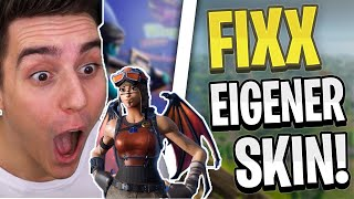 FIXX Shows Off Its Own Skin! | PAIN axe enemies! | Fortnite Highlights English