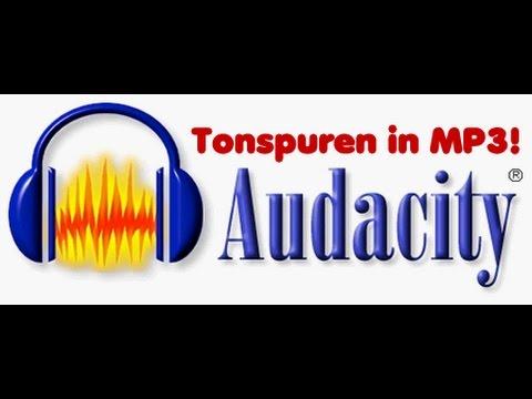 Audacity Tonspuren in MP3 exportieren!