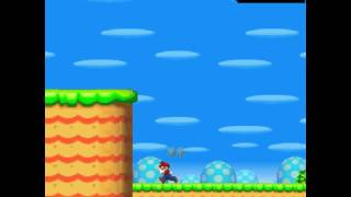 New Super Mario Bros. Flash (browser Game)