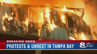 Tampa Bay protest aftermath