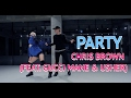 [BEGINNERS CLASS] PARTY - CHRIS BROWN(FEAT. GUCCI MANE & USHER ) / DANVVB CHOREOGRAPHY video & mp3
