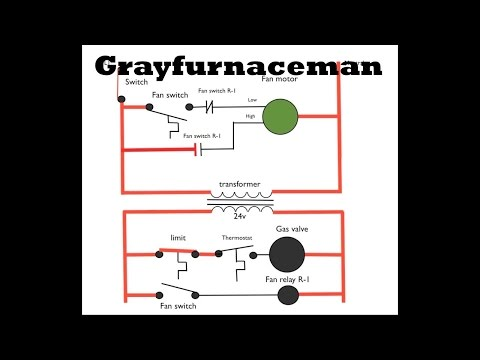 electrical diagram training - gray furnaceman furnace troubleshoot and  repair