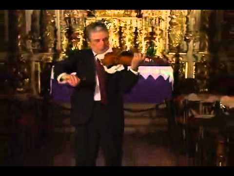 Bach Violin Partita BWV 1004 D minor 4 Giga Haroutune Bedelian   YouTube