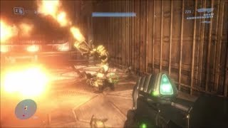 Halo 3 - Can You Save The Flamethrower Marine On Floodgate?