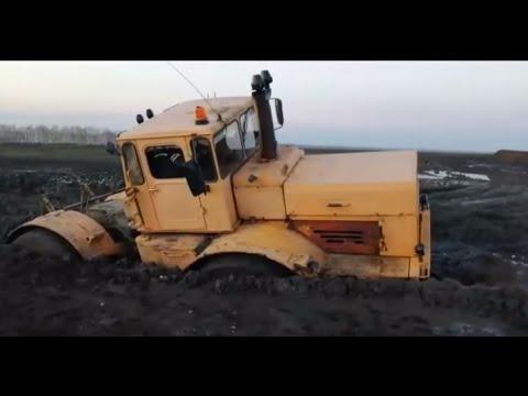 видео: Трактор Кировец. Гряземес. Пытаемся добраться до скважины. Вытаскиваю Камаз.
