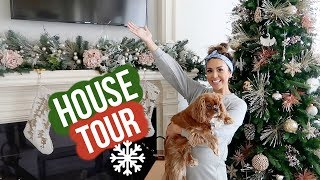 CHRISTMAS HOUSE TOUR + FAQ | VLOGMAS DAY 3