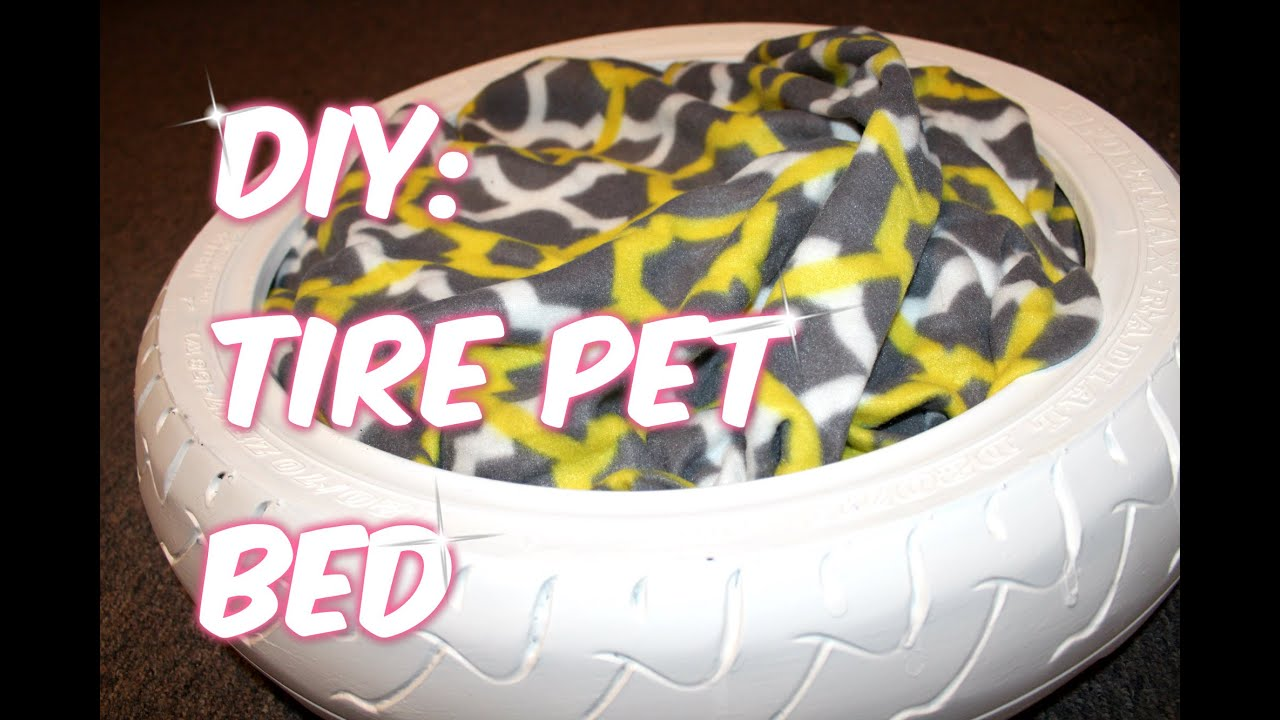 Simple Diy Tire Pet Bed You