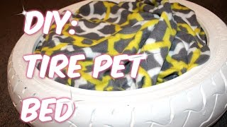 ♥simple Diy: Tire Pet Bed♥