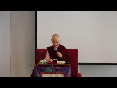 Venerable Chodron Practical Ethics and Profound Emptiness afternoon session