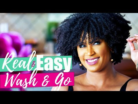 FoolProof Wash and Go | Natural Hair