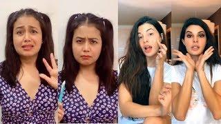 Neha Kakkar Jacqueline Fernandez Tiktok Videos with Riyaz, Arishfa, jannat and More Being Viral