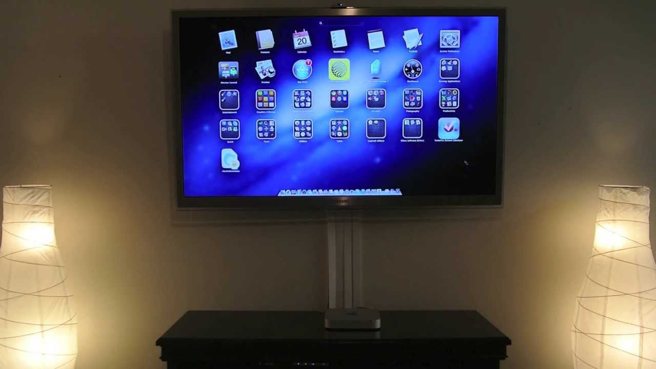 Connect your computer to your tv hdtv living room media for V a dundee living room