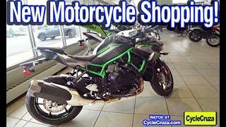 Shopping For a NEW Motorcycle and UTV