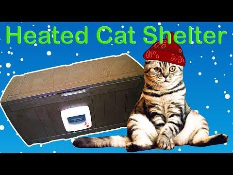 Building A Heated Cat Shelter - DIY Cat Box
