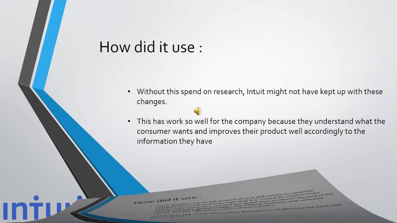 Intuit presentation