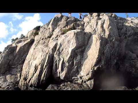 65 ft. Cliff Jump at Fort Wetherill, Jamestown RI
