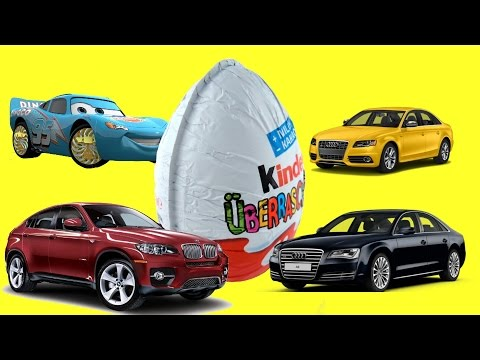 Cars Kinder Surprise Eggs Mini modelle disney-pixar toy story Киндер сюрпризы ТАЧКИ