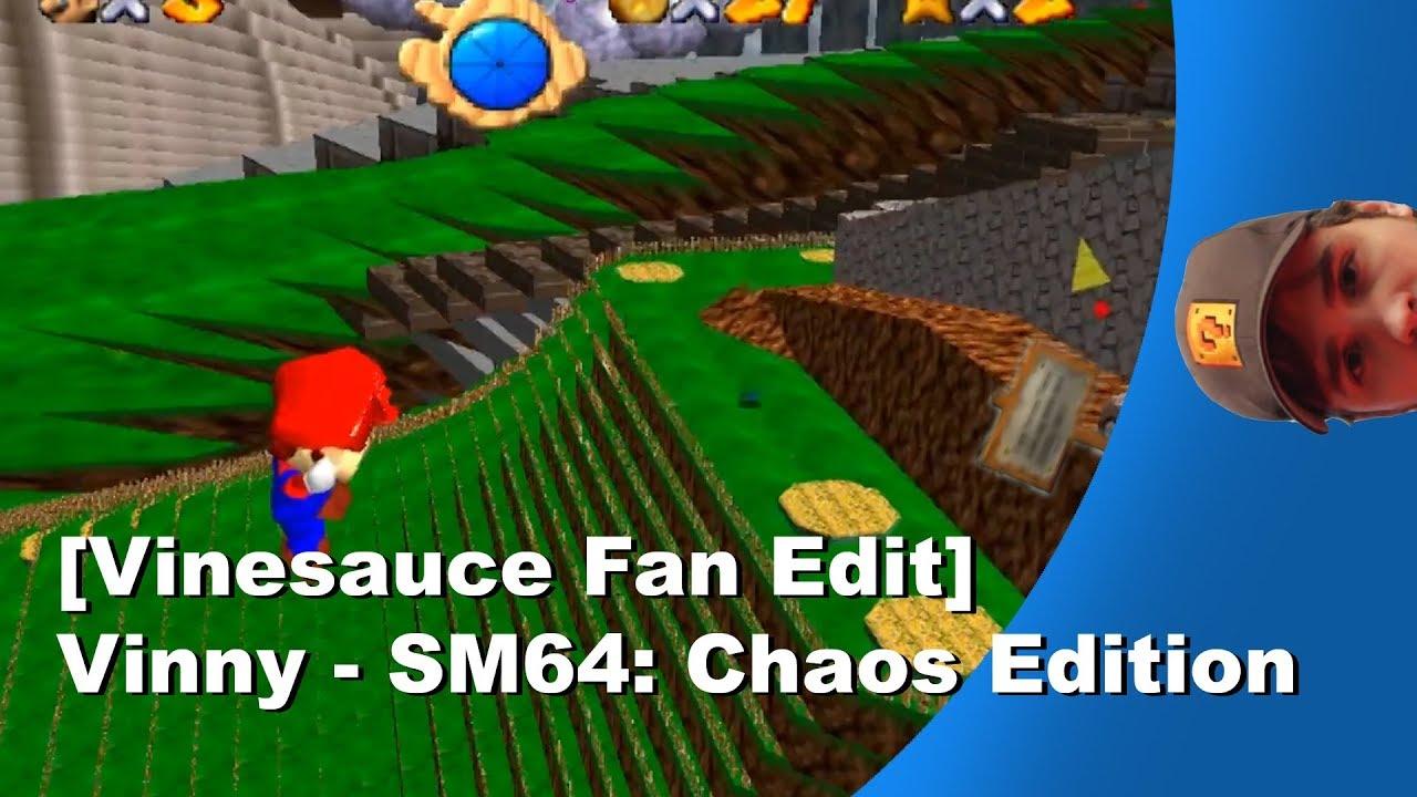 super mario 64 chaos edition vinesauce