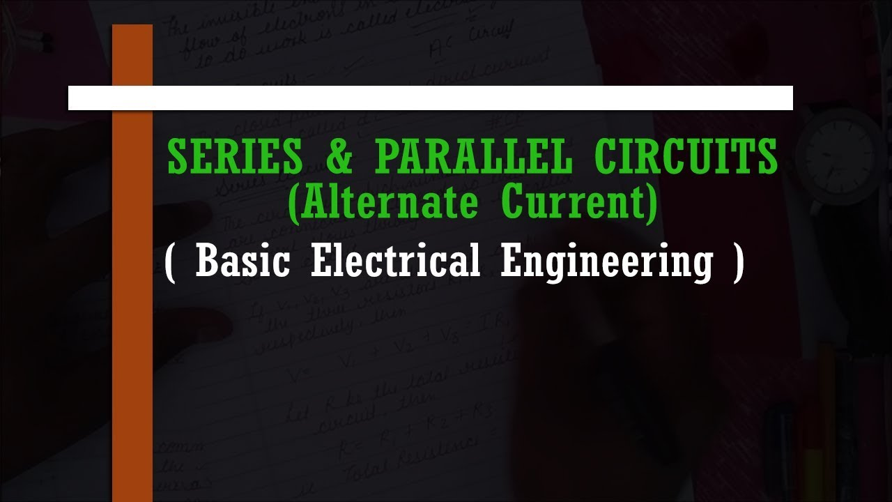 Series Parallel Circuits Ac Dc Cp Education Hub Youtube Circuit With Switch Currents In A