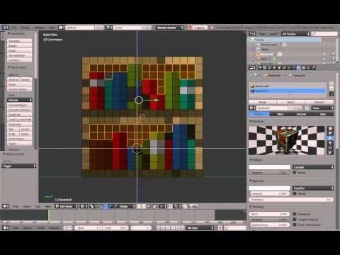 Minecraft Bookshelf Speedmodelling